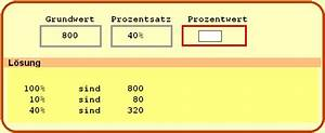 Prozentwerte Berechnen : beispielaufgaben ~ Themetempest.com Abrechnung