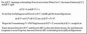 Rechtwinkliges Dreieck Seiten Berechnen Nur Winkel Gegeben : pythagoras ~ Themetempest.com Abrechnung