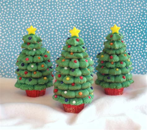 spritz cookie trees craftybaking formerly baking911