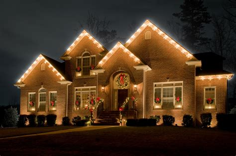 ideas for christmas lights on a ranch house outdoor lighting perspectives