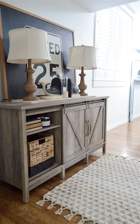 Entryway Console With Storage storage with style cottage farmhouse entryway fox