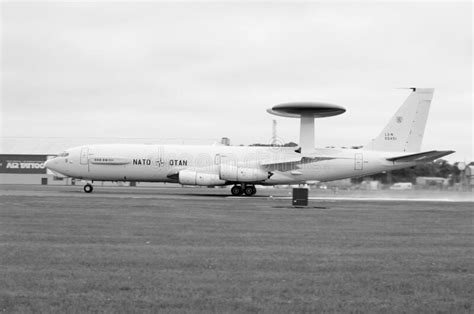 Boeing E3-D Sentry editorial stock photo. Image of ...