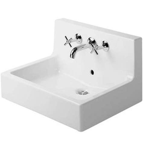 duravit kitchen sink d04536000001 vero wall hung bathroom sink white at 3487