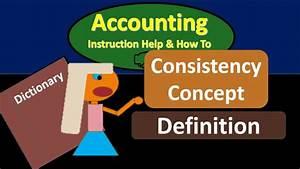 Consistency Concept Definition