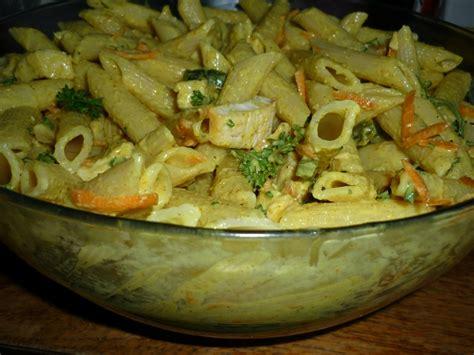 salade de pates poulet curry salade de pates poulet carottes sauce curry miel quot du jardin et du march 233 224 l assiette et 224