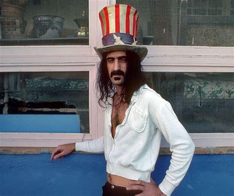 zappa frank stars stripes rocking peashoot politics stone uncle hat sam wearing