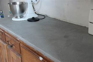 le plan de travail de la cuisine With plan de travail en resine pour cuisine
