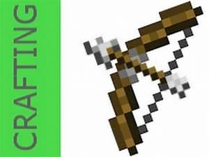 How to Craft: Bow & Arrow MINECRAFT - YouTube