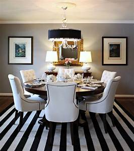 knight moves cooking up a dining room With dining room rug round table
