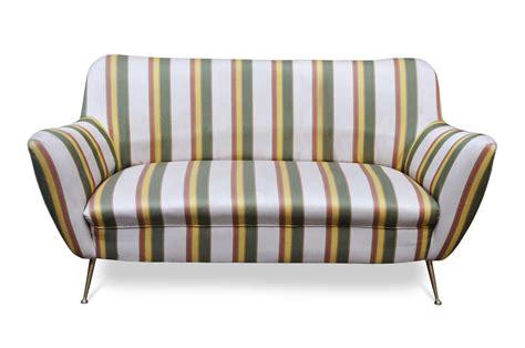 Divano Anni 50 Gio Ponti Mid Century Modern Sofa