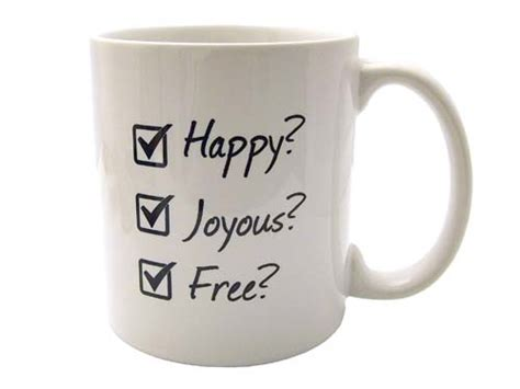 Happy, Joyous, and Free   AA Coffee Cup   Recovery Themed Coffee Mugs at WoodenUrecover