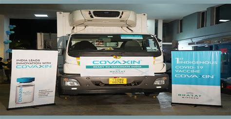 Covaxin shipped to 11 cities in India: Bharat Biotech ...