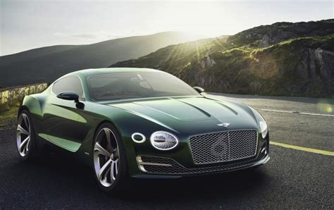 bentley exp  speed  revealed  preview future