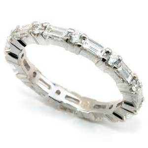 christian bauer rings nagi bridal baguette diamond alternating