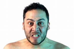Angry man's face - Stock photo | physiognomy | Pinterest ...