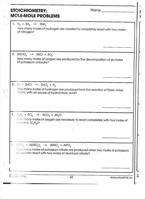 14 best images of mass and volume worksheets density