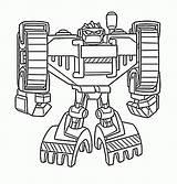 Rescue Bots Coloring Pages Boulder sketch template