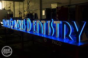 17 best images about signsedge lit acrylics on With edge lit channel letters