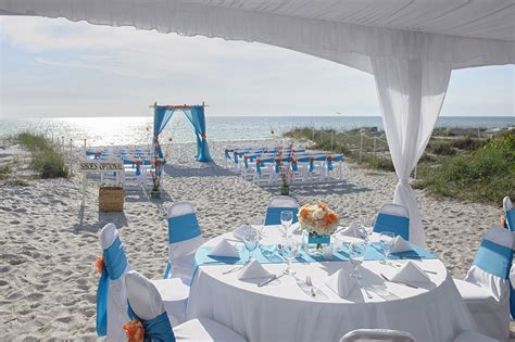 florida beach wedding reception packages