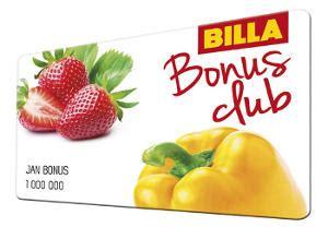 Billa billa Bonus club