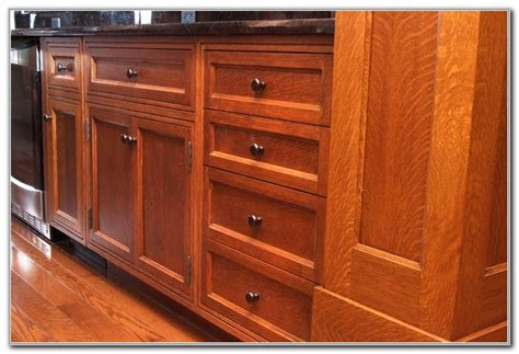 quarter sawn oak kitchen cabinets quarter sawn oak kitchen cabinets cabinet home 7620