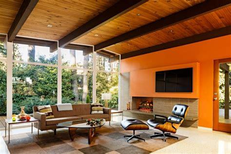 elegant mid century living room designs   bring