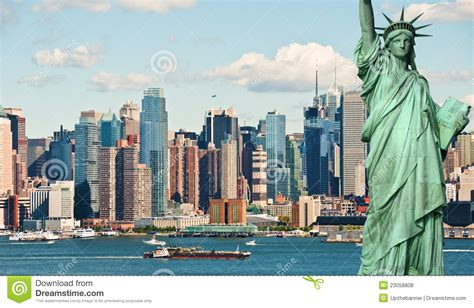 New York City Tourism Concept Stock Photo  Image Of