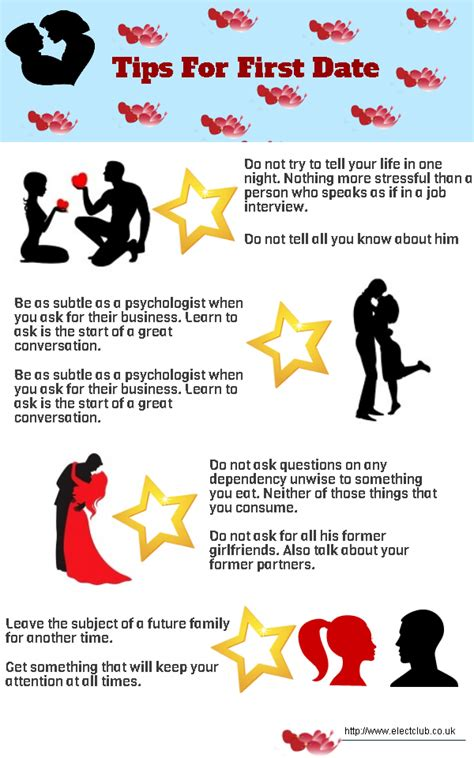 Tips For First Date Visually
