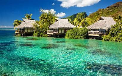 Tropical Wallpapers Definition Paradise Beach Island Backgrounds