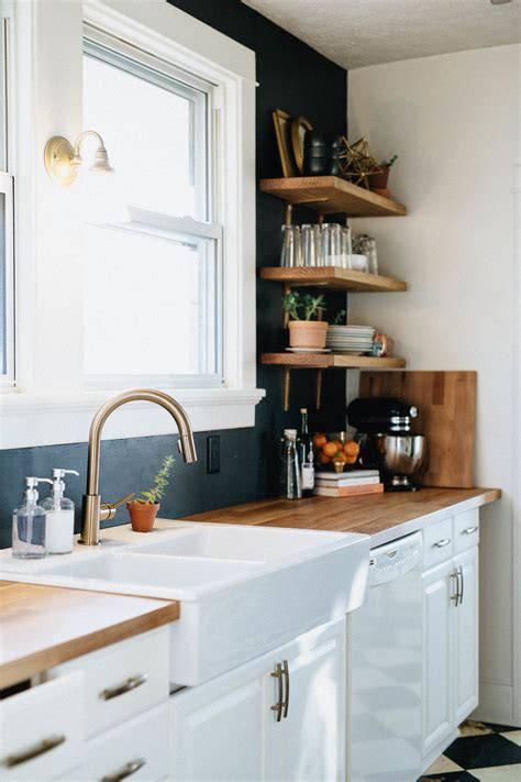how to install a delta kitchen faucet our diy kitchen remodel honest artistic the