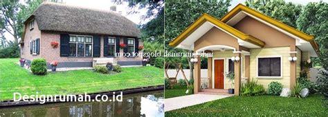 desain rumah sederhana tokonya