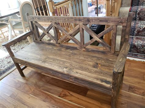 farmhouse dining bench   support  seats version