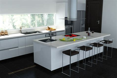 credence cuisine noir et blanc incroyable carrelage credence cuisine design 7 cuisine