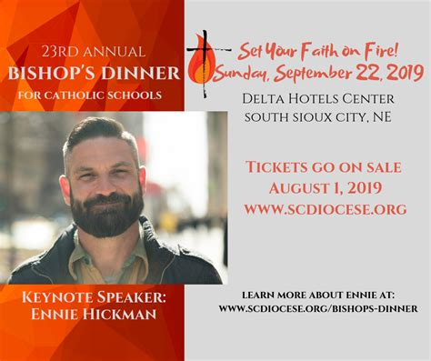 bishops dinner catholic schools bishop garrigan schools