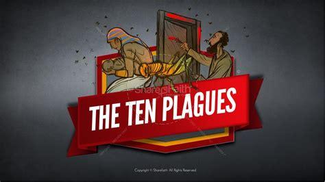 ten plagues kids bible story kids bible stories
