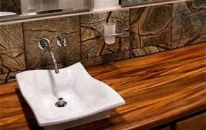 African Mahogany Wood Countertop Photo Gallery, by DeVos