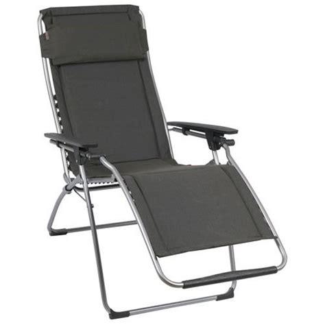 chaise longue de jardin lafuma fauteuil relax futura clippe ardoise lafuma achat vente chaise longue fauteuil relax
