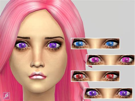 Bright Anime Eyes Non Default The Sims 4 Catalog