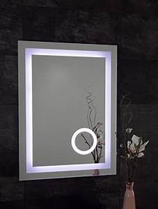 Spiegel 80 X 60 : led badspiegel mit kosmetik spiegel 60 x 80 cm spiegel mit beleuchtung bad spiegel 667478 2 k 68 ~ Bigdaddyawards.com Haus und Dekorationen