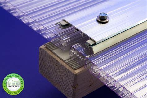 Aluminium Profil Um Stegplatten Zu Verbinden