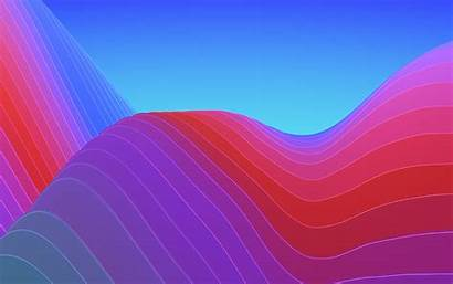 Abstract Colorful Waves Wallpapers 4k Iphone Wave