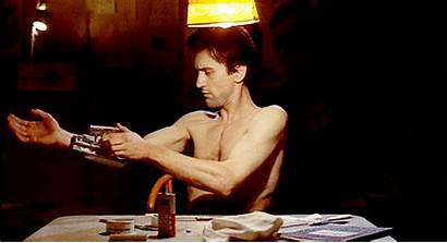 Robert Taxi Film Driver Niro Talkin Gun