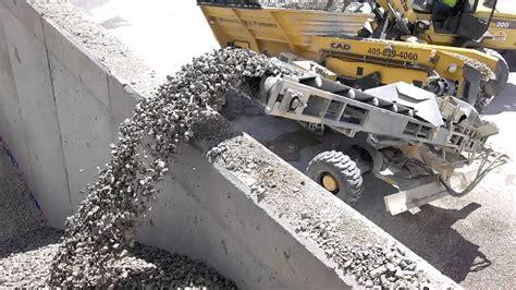 backfill retaining wall stone slinger backfilling retaining wall walmart 1 youtube