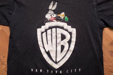 tshirt baju warner bros wb new york city logo t shirt bugs bunny warner bros nyc