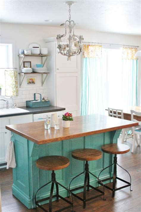 turquoise kitchen island 10 stylishly functional kitchen islands