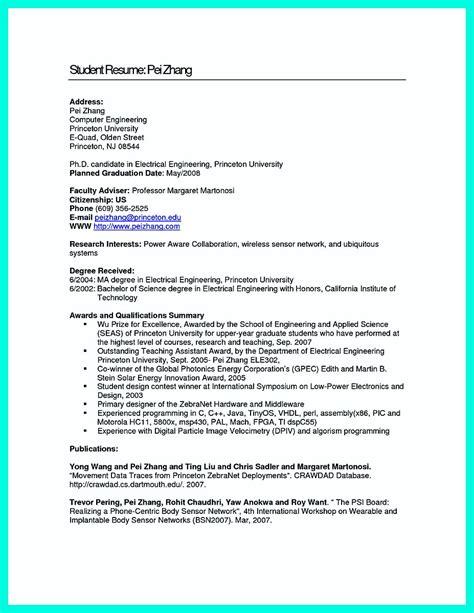 perfect computer engineering resume sample   job