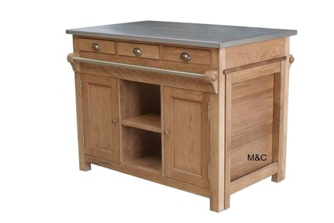 meuble de cuisine ilot central ilot de cuisine bourgogne en chne