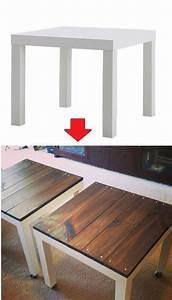 Ikea Hack Lack Tisch : die besten 25 ikea lack tisch ideen auf pinterest ikea lack tisch hack lack m bel und ~ Eleganceandgraceweddings.com Haus und Dekorationen