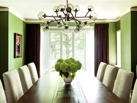 ten inspiring green dining room ideas    decohoms