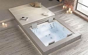 Whirlpools fur drinnen und draussen schwimmbadservice for Whirlpool garten mit große pflanzkübel beton